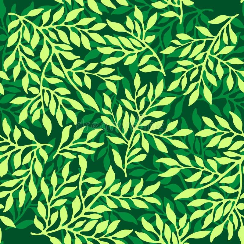 Bezszwowy laminuje ornament ilustracji