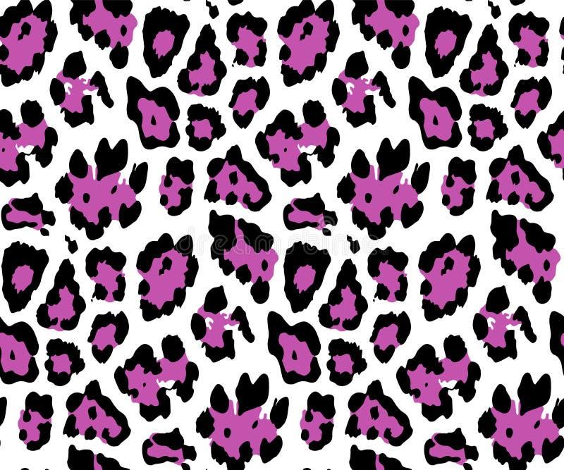 Bezszwowy lampart sk?ry wz?r dla Tekstylnego druku dla drukowanego tkanina projekta dla Womenswear, bielizna, activewear kidswear royalty ilustracja