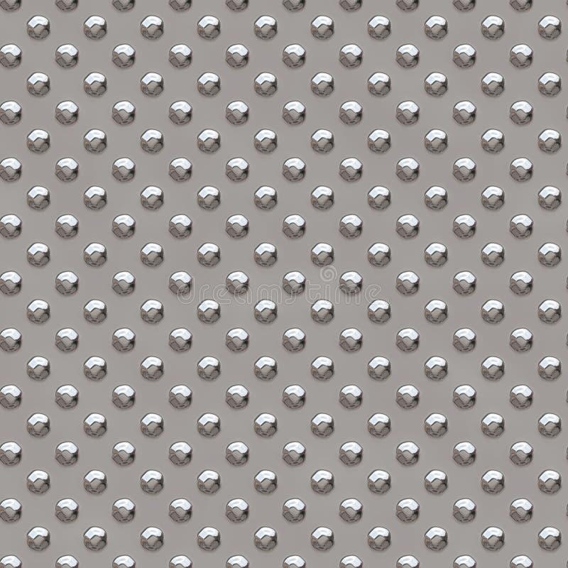 Bezszwowy metal tekstury rhombus kształtuje 2 zdjęcie stock
