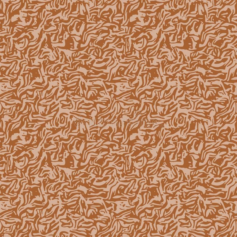 Bezszwowy mokietu lub aksamita tkaniny wzór ilustracji