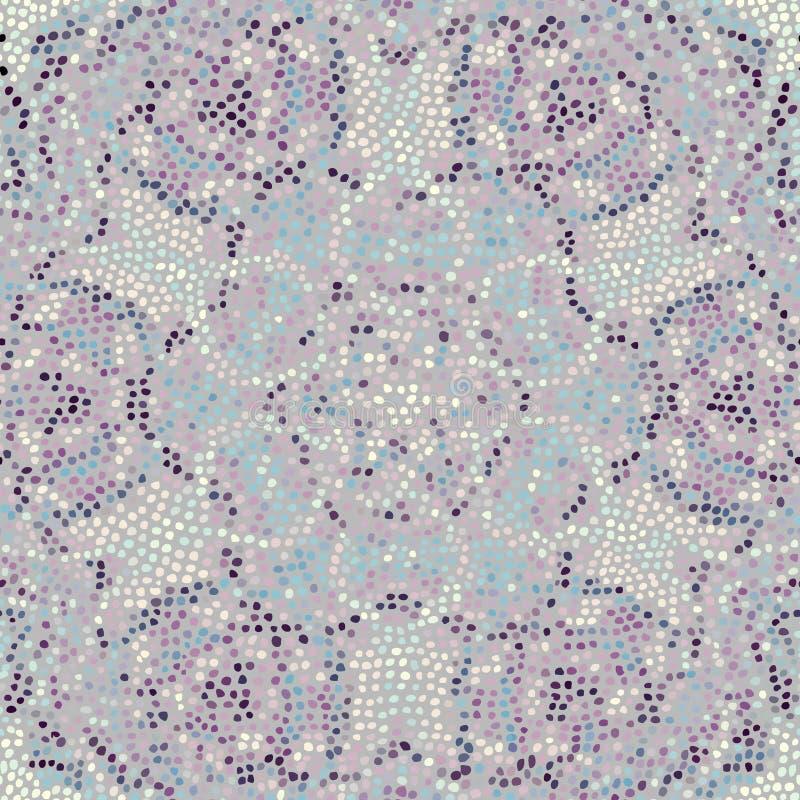 Bezszwowy mozaiki sztuki wz?r ilustracja wektor