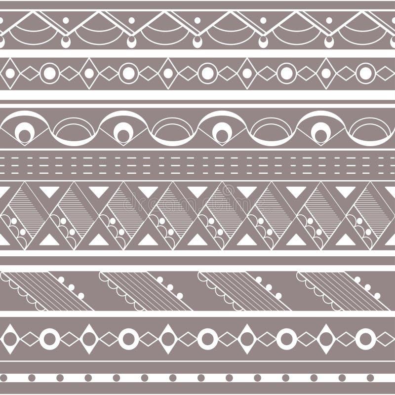 Download Bezszwowy Pochodzenie Etniczne Ilustracja Wektor - Obraz: 33076203