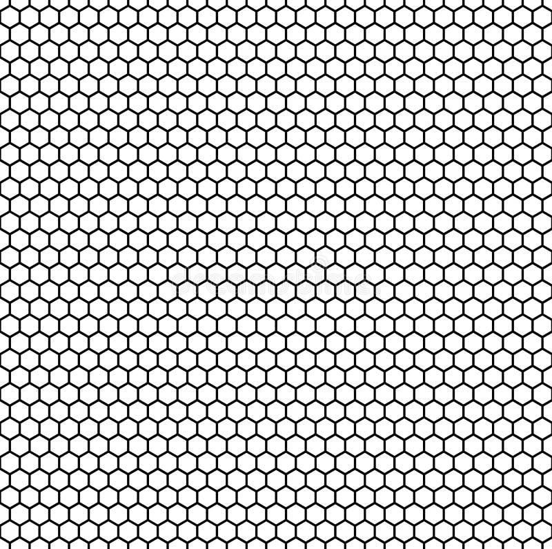 Bezszwowy, powtarzalny wzór, tło z ośmiobokiem/kształtujemy royalty ilustracja