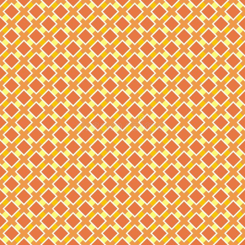 Bezszwowy retro lata lub jesieni wzór. ilustracja wektor