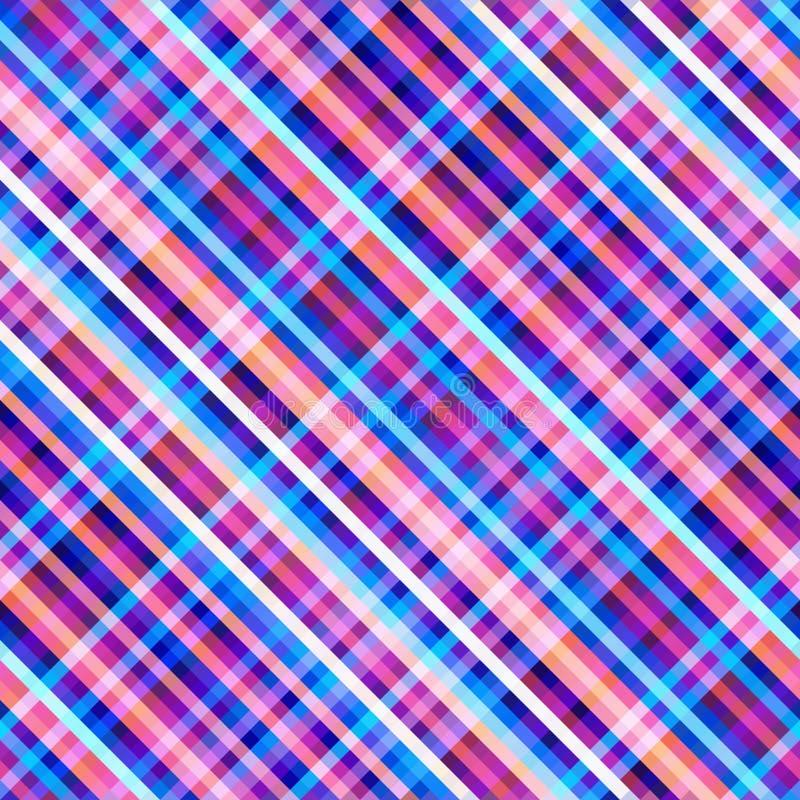 Bezszwowy tło Geometryczny abstrakcjonistyczny przekątna wzór w niskim poli- piksel sztuki stylu ilustracja wektor