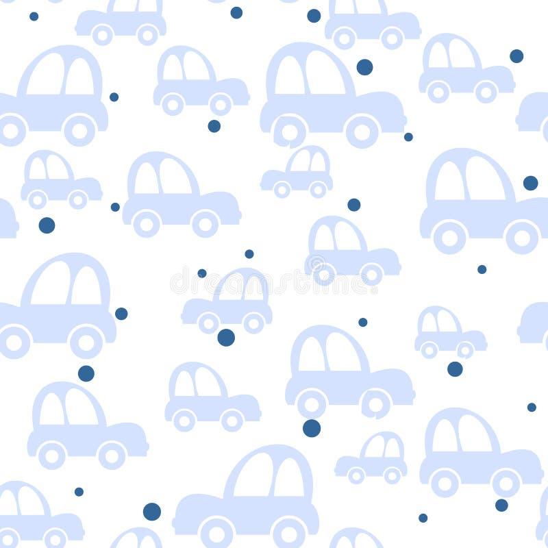bezszwowy tło samochód ilustracji