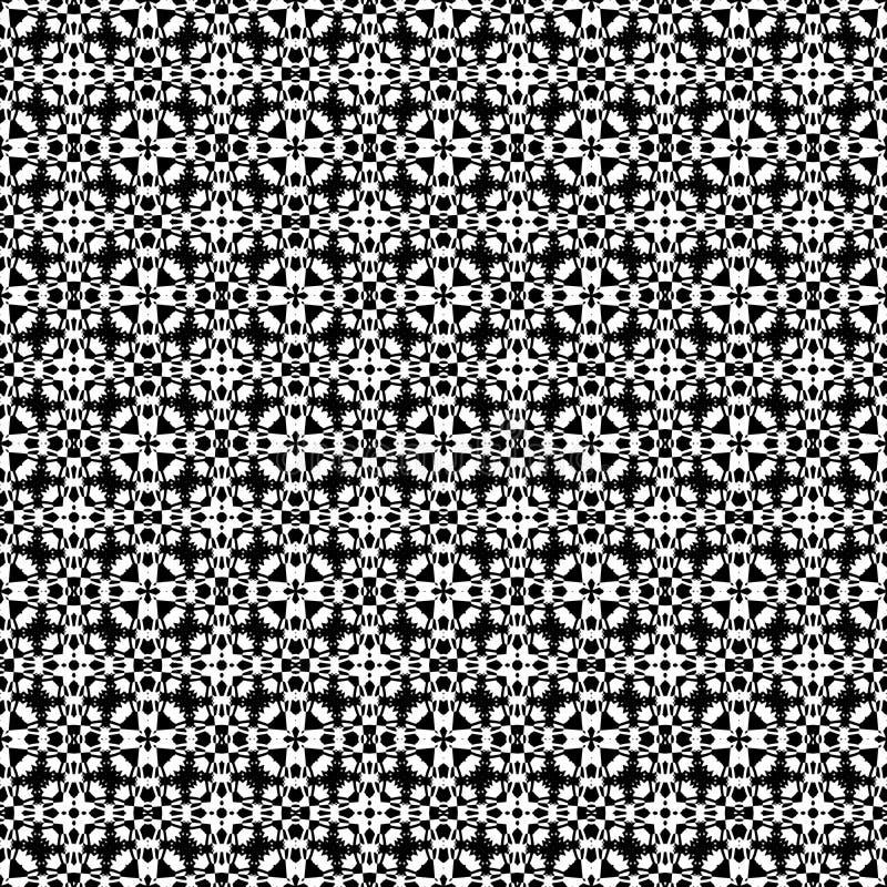 Bezszwowy tło z w zawiły sposób wzorem royalty ilustracja