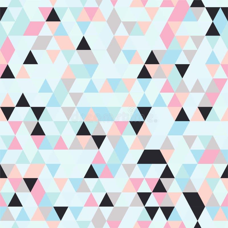Download Bezszwowy tło z TShapes ilustracja wektor. Ilustracja złożonej z kreatywnie - 106919107