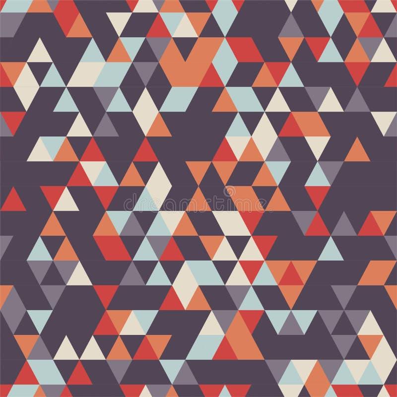 Download Bezszwowy tło z TShapes ilustracja wektor. Ilustracja złożonej z kreatywnie - 106919905