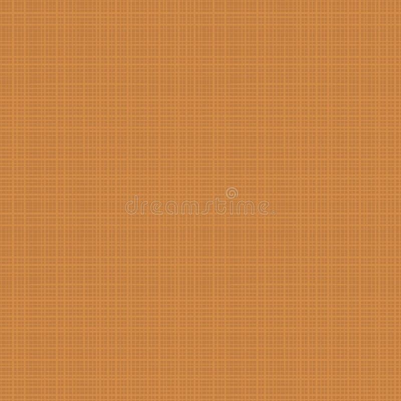 Bezszwowy tkanina wzór jesień ocher kolory royalty ilustracja