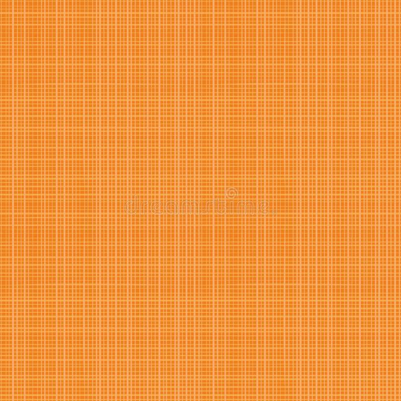 Bezszwowy tkanina wzór jesień pomarańczowi kolory ilustracja wektor