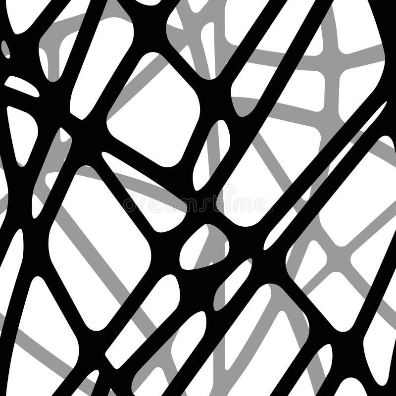Bezszwowy tomowy tło przecinać linie ilustracja wektor