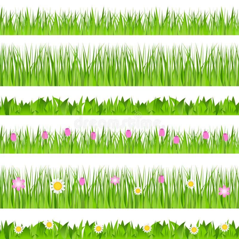 bezszwowy trawa wektor ilustracji
