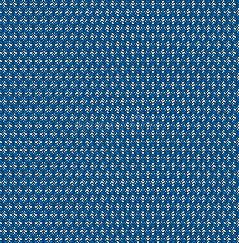 Bezszwowy trykotowy geometryczny tło, ilustracja ilustracji