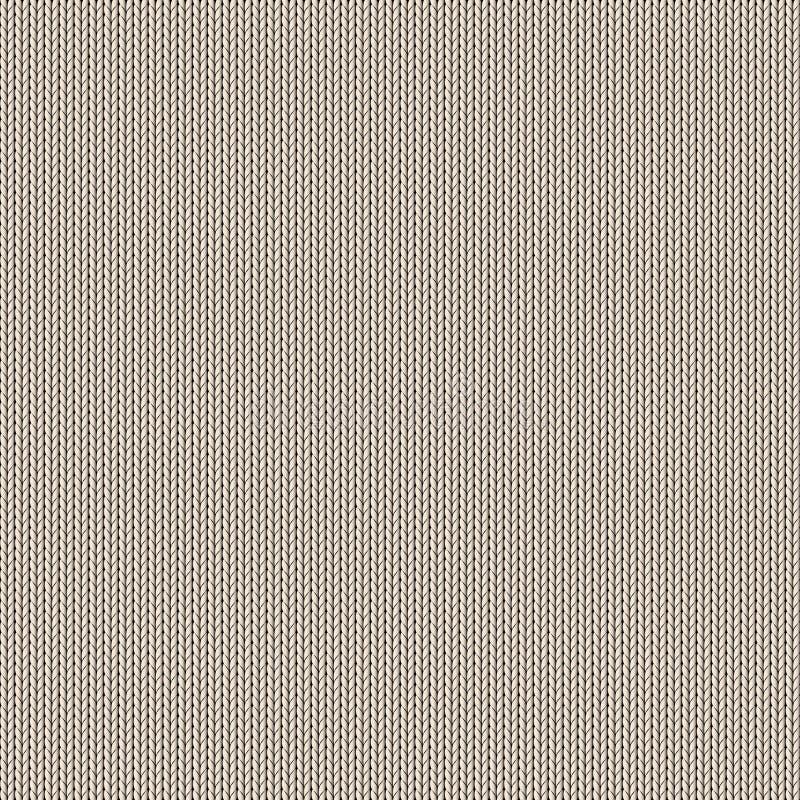 Bezszwowy trykotowy tło ilustracji