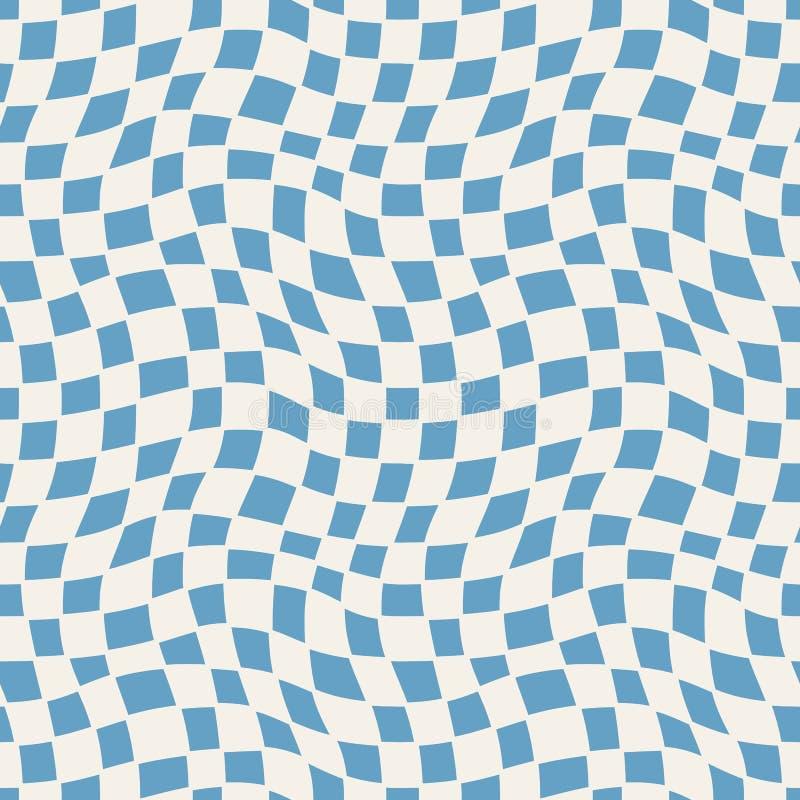 Bezszwowy wyplatający wzór Prosta rocznik tekstura royalty ilustracja