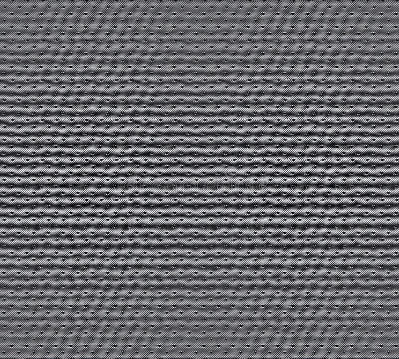 Bezszwowy wzór w postaci czerni koronki na białym tle Koronka w postaci siatki z kropkami obrazy royalty free