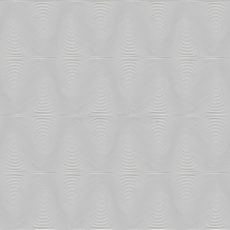 Bezszwowy wzór czarny i biały zdjęcia royalty free