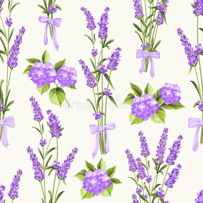 Bezszwowy wzór dla tkaniny ilustracja wektor