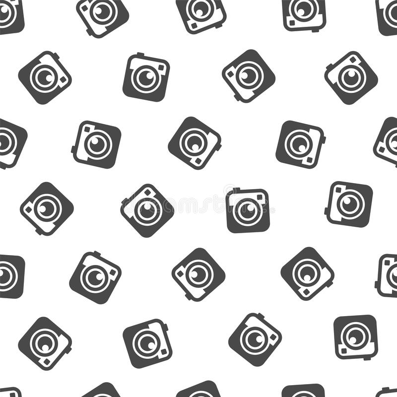 Bezszwowy wzór - podkowa (szczęście symbol) ilustracja wektor