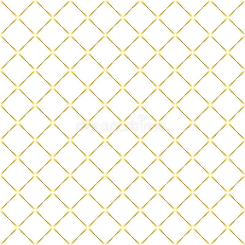bezszwowy wzór rhombuses Wektorowy tło ilustracja wektor
