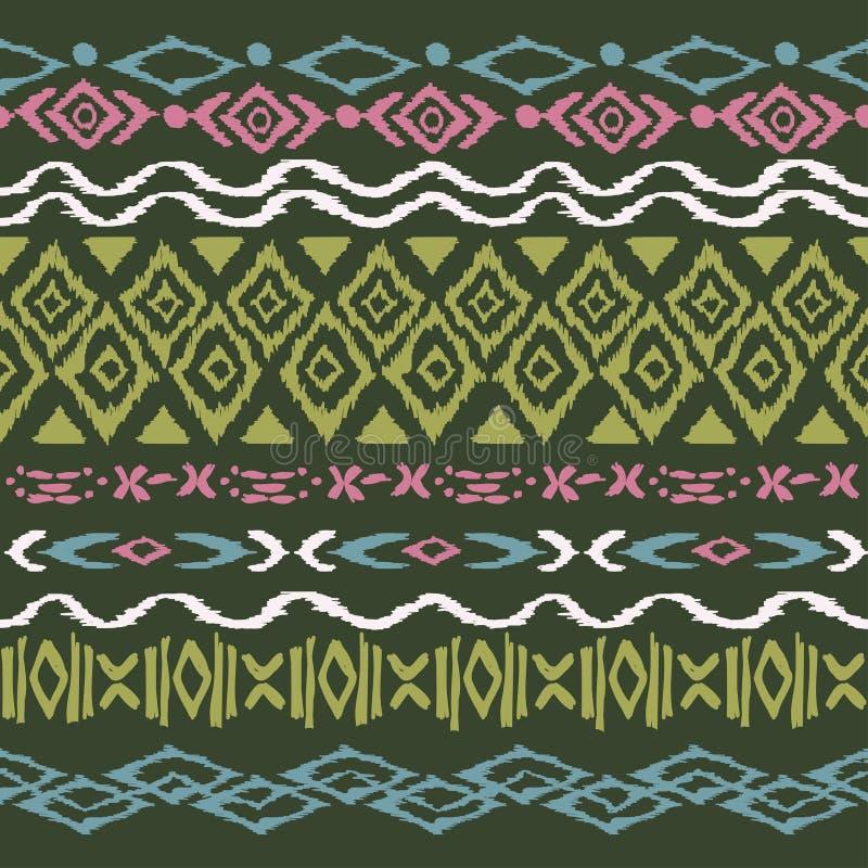 Bezszwowy wzór w aztec stylu royalty ilustracja
