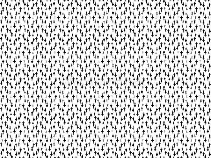 Bezszwowy wzór z lanca ornamentem Częstotliwa lancy tapeta Szewron lancy motyw Digital papier z lancą dla tekstylnego druku ilustracja wektor