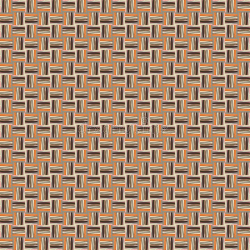 Bezszwowy wzór z mała skala geometrycznymi kształtami Prosty tło dla drukować na tkaninie, prezenta opakunek, papier, pokrywy ilustracji