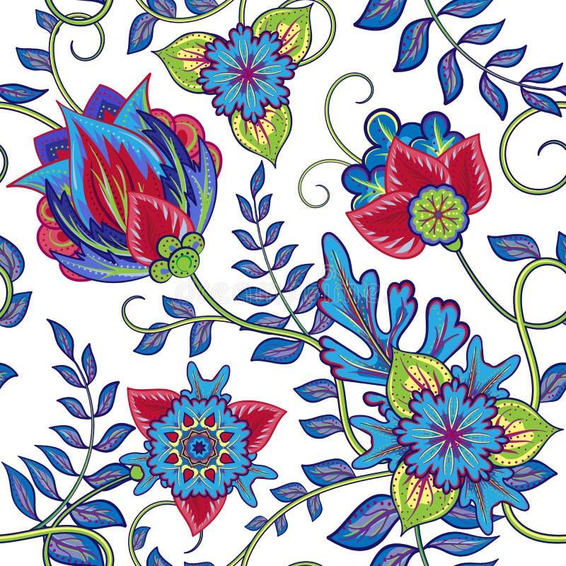 bezszwowy wzoru elementu dekoracyjny rocznik sporządzić tła ręka ilustracja wektor