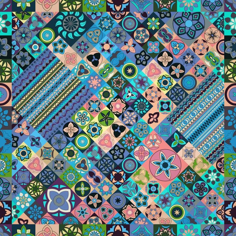 bezszwowy wzoru elementu dekoracyjny rocznik sporządzić tła ręka Islam, język arabski, indianin, ottoman motywy zdjęcie royalty free