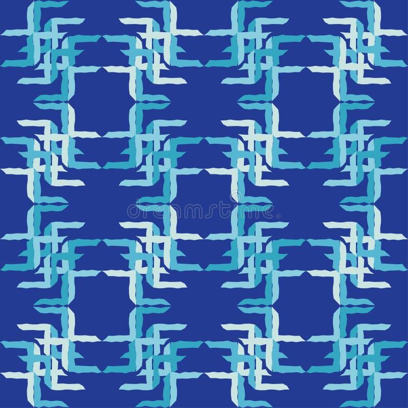 bezszwowy wzoru geometrycznego Tekstura paski Azjatycki motyw Skrobaniny tekstura ilustracja wektor