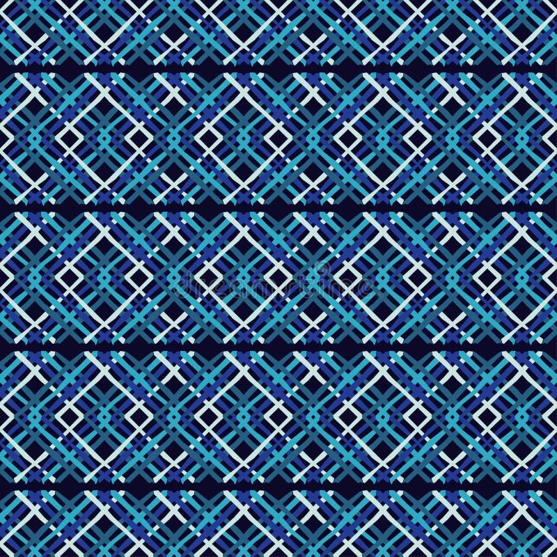 bezszwowy wzoru geometrycznego Tekstura paski Skrobaniny tekstura royalty ilustracja