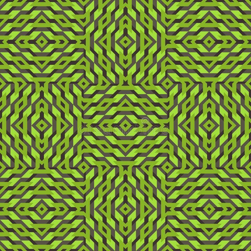 Download Bezszwowy wzoru mozaika ilustracja wektor. Ilustracja złożonej z płynnie - 53784980