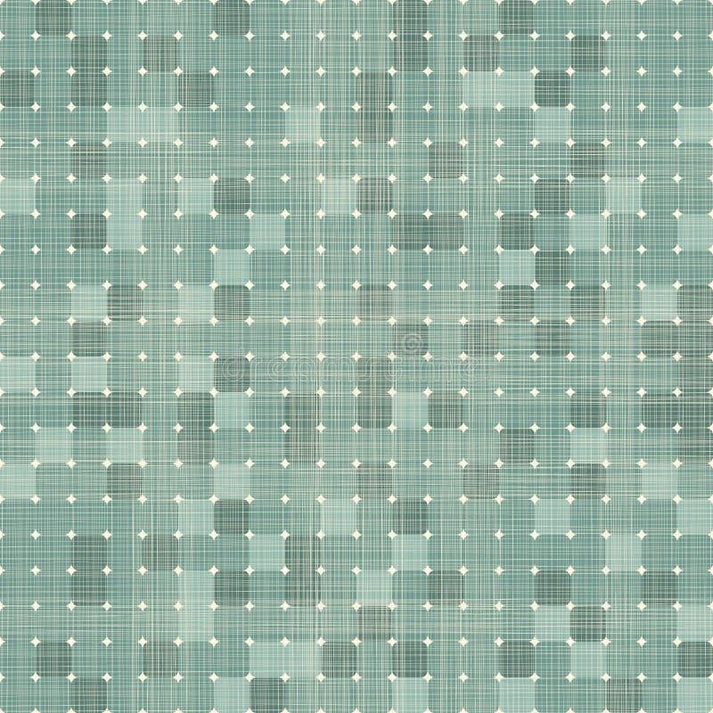 Bezszwowych retro kwadratów bezszwowy wzór ilustracja wektor