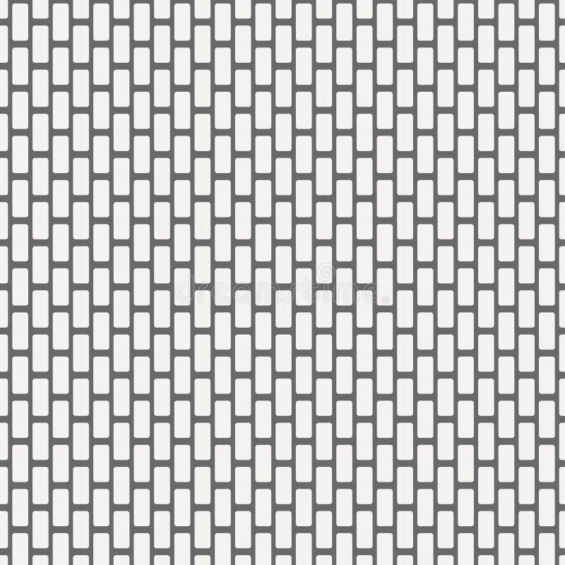 Bezszwowych wektorowych geometrycznych płytek kwadratowy tło ilustracja wektor