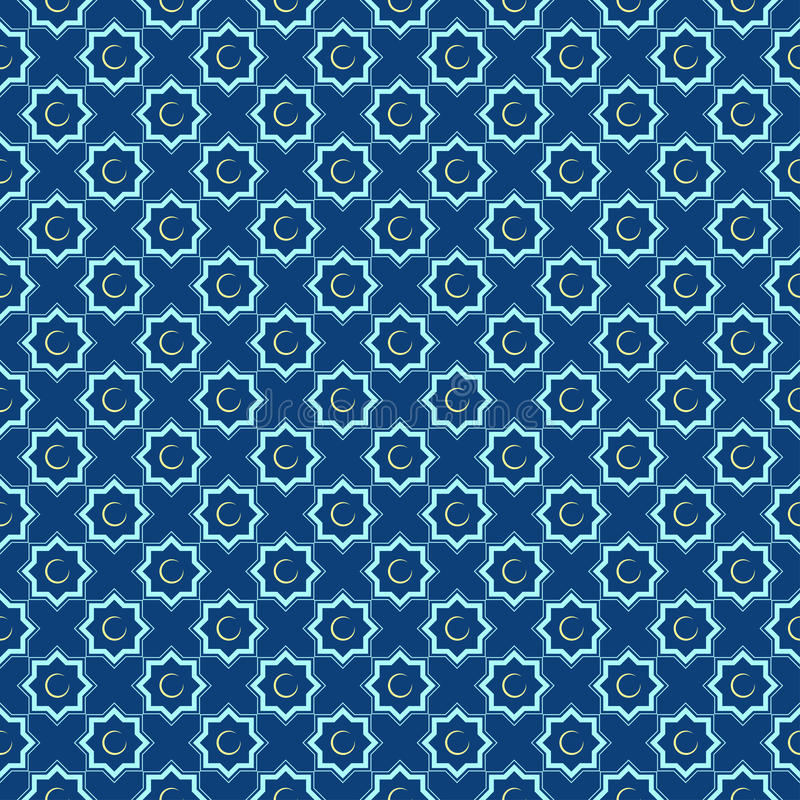 Bezszwowych wzorów Islamski ornament Tło z bezszwowym wzorem w islamskim stylu fotografia stock