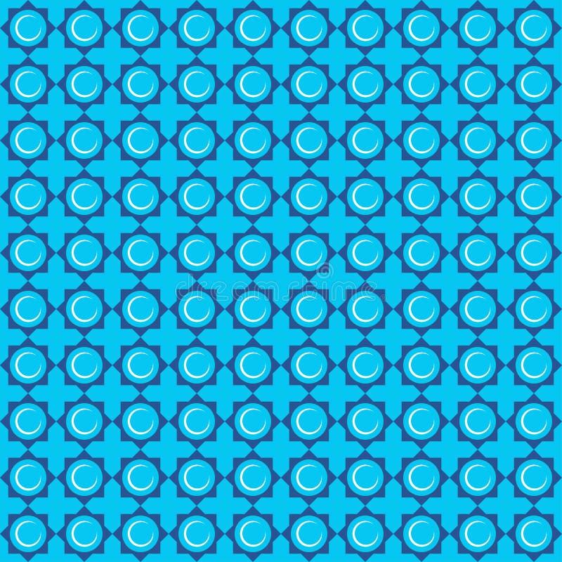 Bezszwowych wzorów Islamski ornament Tło z bezszwowym wzorem w islamskim stylu obrazy stock