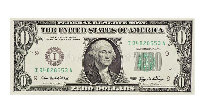 bezwartociowy rachunku dolar obrazy royalty free