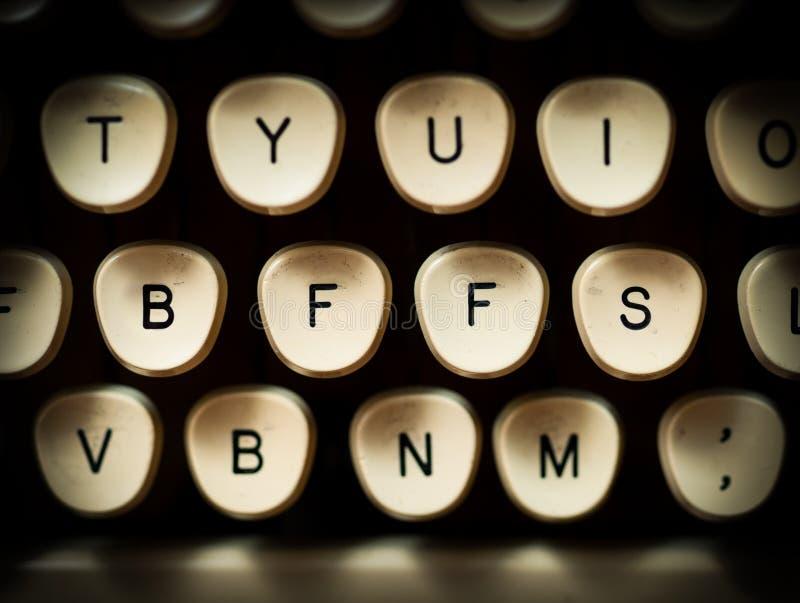 BFF lub BFFS zdjęcie stock