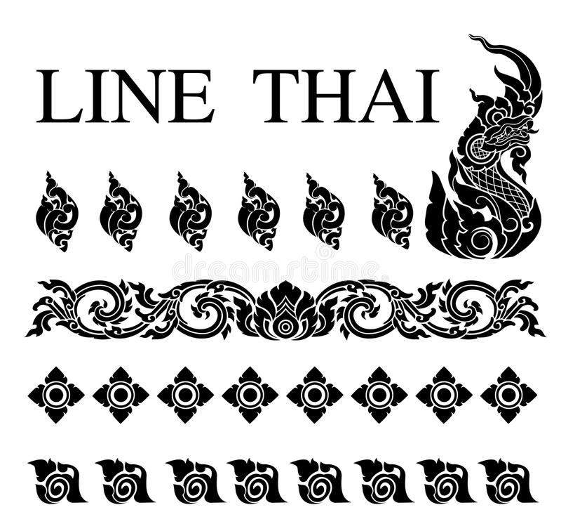 BG lai tajlandzcy 0001 obraz royalty free