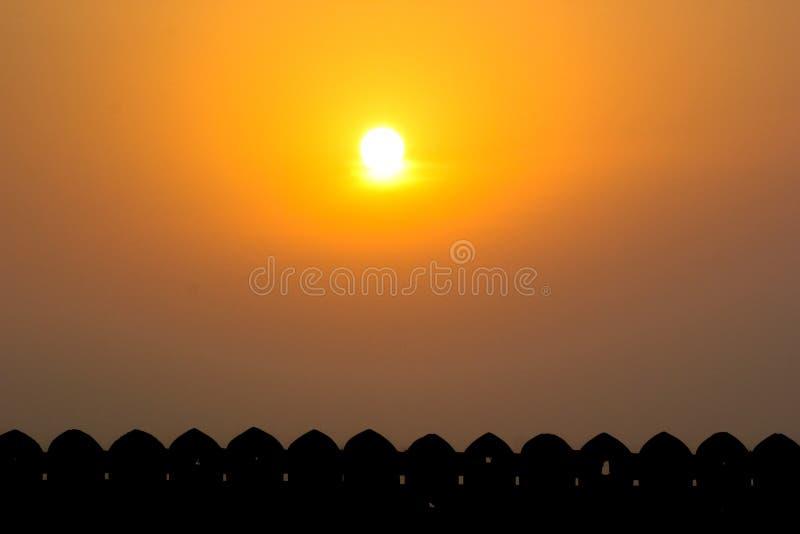 Bhadra堡垒 库存图片