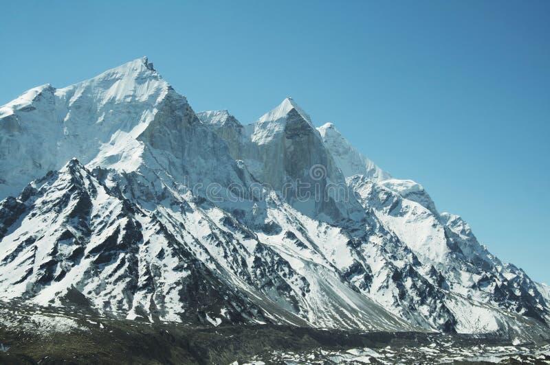 Bhagirathi peak stock photography