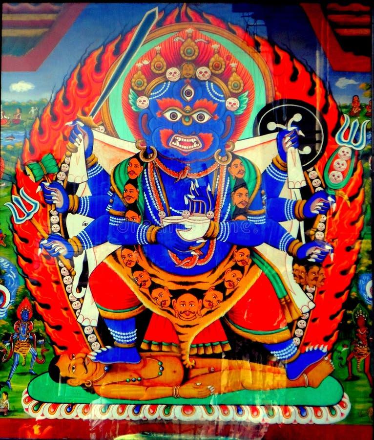 Bhairava 免版税图库摄影