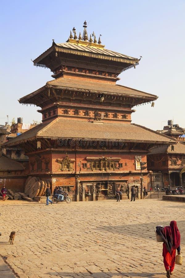 Bhairavnath Mandir, Bhaktapur, Nepal royalty free stock images
