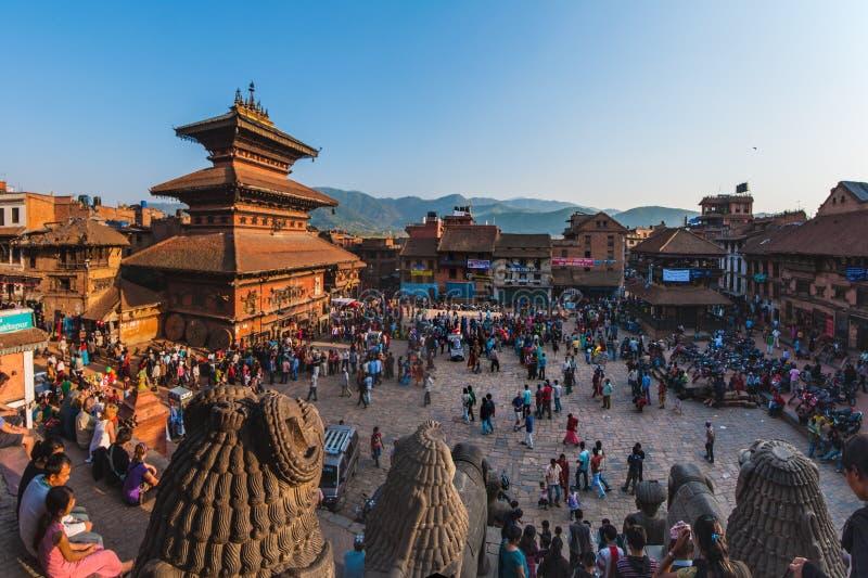 Bhaktapur στοκ φωτογραφία με δικαίωμα ελεύθερης χρήσης