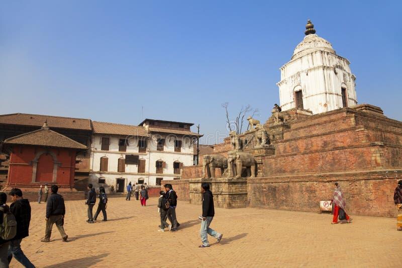 Bhaktapur Durbar Square, Nepal royalty free stock photos