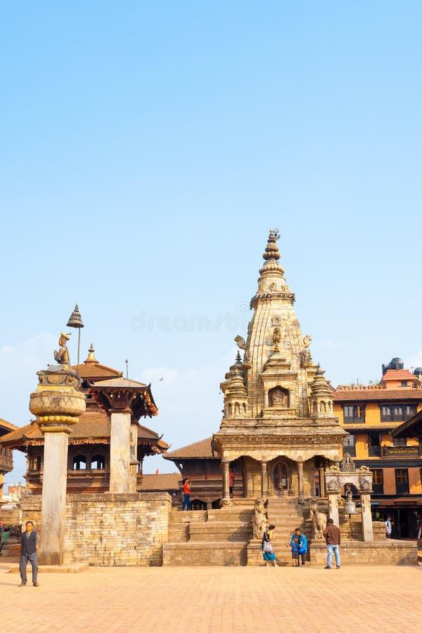 Bhaktapur Durbar Vatsala intact carré Durga V image stock