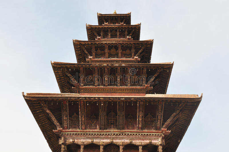 Bhaktapur, Népal image stock