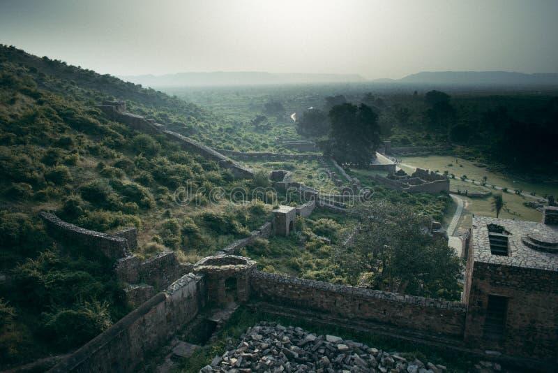 Bhangarh堡垒 免版税库存图片