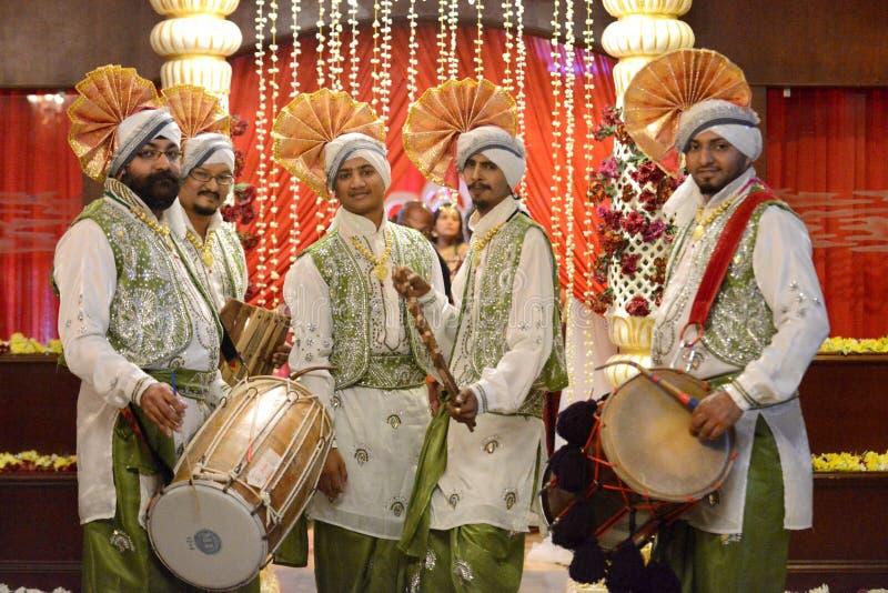 Bhangra royalty-vrije stock afbeeldingen